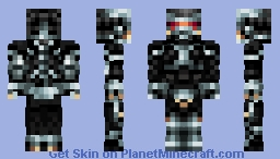 Crysis Nano Suit 2.0 [1.8 Features] Minecraft Skin