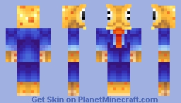 Just a normal 'human' ... (Octodad) Minecraft Skin
