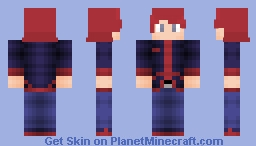PKMN Trainer Silver (less sucky, more shaded version) Minecraft Skin