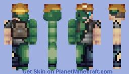 UnderGround Lizardman!! [Contest] Minecraft Skin
