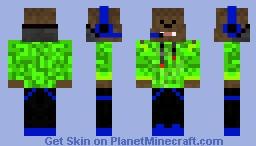 Teenage bacca Minecraft Skin