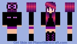 ~mob series~ Ender girl Minecraft Skin