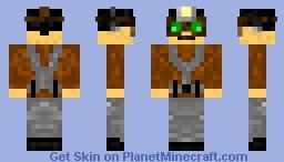 Sneaky Spy Minecraft Skin