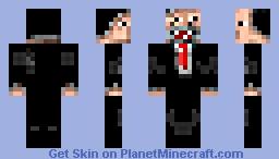 SplitFace Minecraft Skin