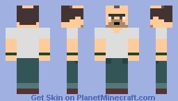 Trevor Philips Minecraft Skin