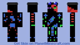 Failed Frankenstein Minecraft Skin