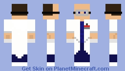 Scientist with goggles Minecraft Skin