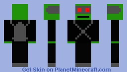 zombie bounty hunter Minecraft Skin