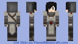 Alexandros Arianwyn, the Last of the San'lorai Minecraft Skin