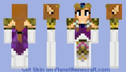 Princess Zelda (1.8 Update) Minecraft Skin
