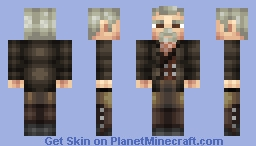 War Doctor- John Hurt (Doctor Who 50th Anniversary Skin Series) Minecraft Skin
