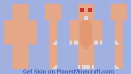 Naked Mole Rat Minecraft Skin