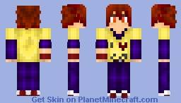 Sora [No Game, No Life] Minecraft Skin