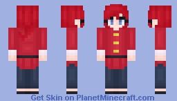 Ranma Saotome - Ranma 1/2 Minecraft Skin