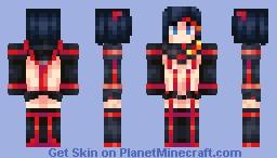 Kill La Kill - Ryuko Matoi (Senketsu ver.) Minecraft Skin