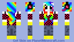 Unicorn Gamer Minecraft Skin