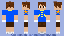 Tai from Digimon Adventures [100% Selfmade] Minecraft Skin