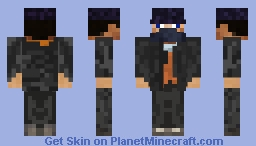 Aiden Pearce [watch_dogs] Minecraft Skin