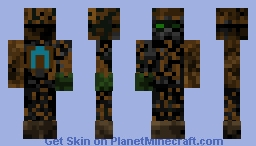 "Ancient Mining-Robot (For the ""Underground Creatures"" contest!) Minecraft Skin"