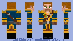 Captain Ruffigan Swashbuckler Minecraft Skin