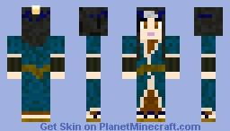 Haku Without Mask Minecraft Skin