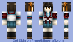The Melancholy of Haruhi Suzumiya: Haruhi Suzumiya (UNIFORM) Minecraft