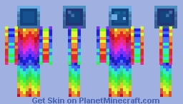 Jyles the Rainbow Slime! Minecraft Skin