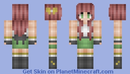 Rosabelle *omg i deleted this skin on accident!* Minecraft Skin