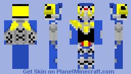 Kamen Rider- Energy Rider Duke Minecraft Skin