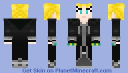 Larxene (No. XII)  - Kingdom Hearts Minecraft Skin