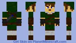Link- Twilight Princess Minecraft Skin