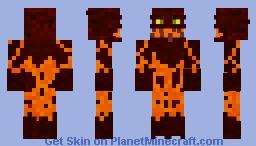 Magmus The magma devourer (Contest) Minecraft Skin
