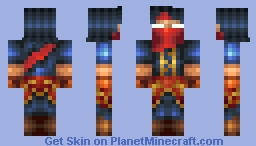 Malzahar: Prophet of the Void (Vizier Malzahar) Minecraft Skin