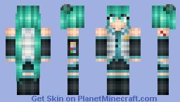 Hatsune Miku Minecraft