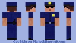Epic Police Officer Skin!!! Minecraft Skin
