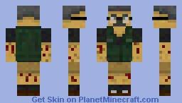 Black Ops 2 Samuel J. Stuhlinger Minecraft Skin