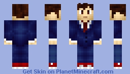 10th Doctor - Blue Suit Minecraft