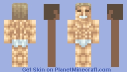 Billy Herrington Minecraft Skin