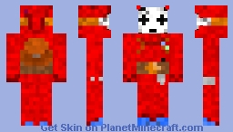 Shy Guy Minecraft Skin