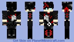 RWBY- GenderBend Miltiades Malachite Minecraft Skin
