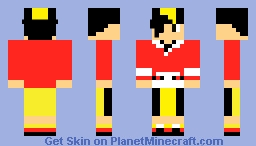 Gold. From Pokemon Gold Version. Minecraft Skin