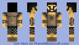 Hector from Troy - (Exterminator of men!) Minecraft Skin