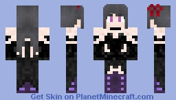 PUELLA MAGI MADOKA MAGICA | HOMUCIFER Minecraft Skin