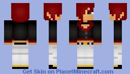 Iori Yagami - King of Fighters XIII Minecraft Skin
