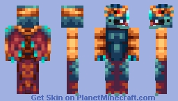 MusaTheLegend AKA Dragon Boss by Cyangmou Minecraft Skin
