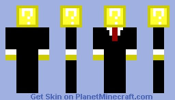 Mystery Block In A Suit Minecraft