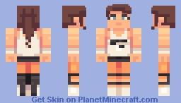 Chell Minecraft Skin