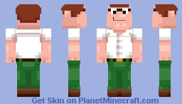 Peter Griffin (Family Guy) Minecraft Skin