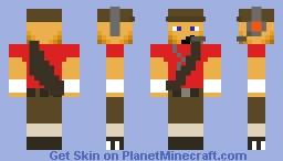 Red Scout v2.0 Minecraft Skin