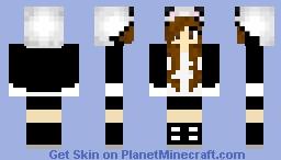 Panda Girl (Hoodie) Minecraft Skin